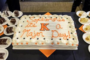 Declaration of Major Day cake